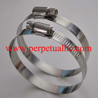 15042904 Stainless Steel Perforated Band Hose Clamp
