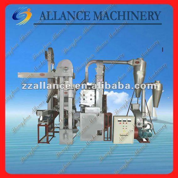 19 ALRM-C sand roller machine combined RICE MILL