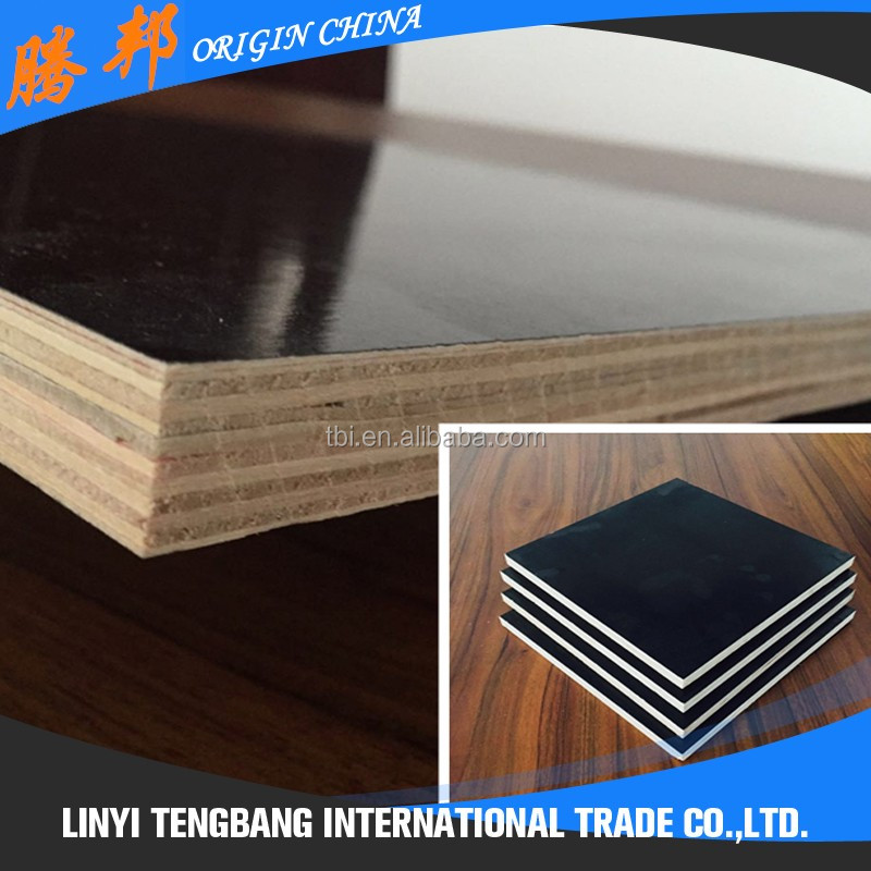Construction Material Suttering Film Faced Plywood