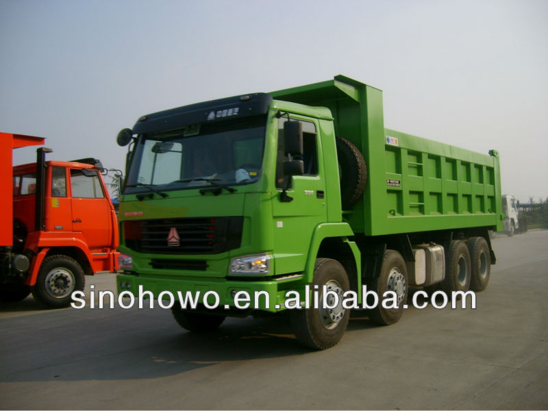 China Supplier 8x4 Dump Truck SINOTRUCK HOWO For Fiji