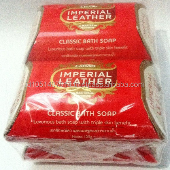 Cussons Imperial Leather Soap 4 x 125gr