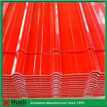 wholesale long span heat resistant 0.7mm aluminumin ribbed roof panel corrugated zinc coated aluminum roofing sheet price
