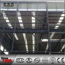 large span construction steel structure canopy
