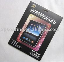 clear fingerprint proof screen protector film for ipad 2