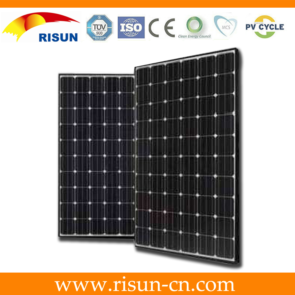 high quality 260W mono solar panel for solar energy system with TUV, CEC ,CE , ISO, UL certifications