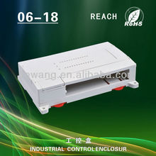 China supplier szomk small ABS plastic din rail industrial control enclosure for electronic device