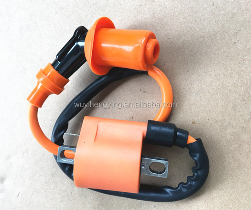 orange high speed 200cc-250cc ignition coil price for GY6 scooter Dirt Pit Bike atv