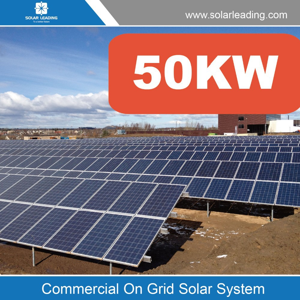 50kw Solar Pv Photovoltaic Panel Systems In Uk For The