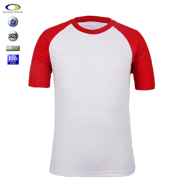 Oem Fashion Polyester Blank Cut And Sew Man T-Shirts