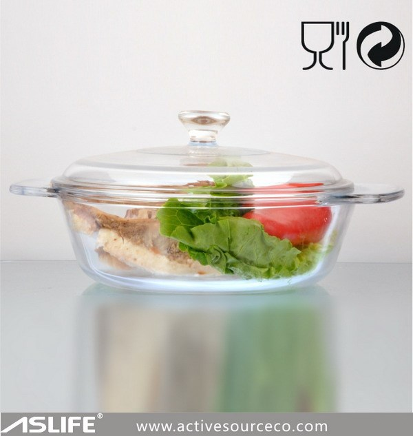 ASC1202 - Oven safe rectangular glass baking dish/oval glass baking dish/borosilicate glass casserole dishes with lids