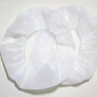 Strong support beauty disposable pp bouffant cap hair caps nonwoven For Factory Hot Sales