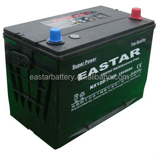 High Quality JIS 12V70AH 80D26L MF Car Battery storage rechargeable battery for Auto Starting,tractor, automobile