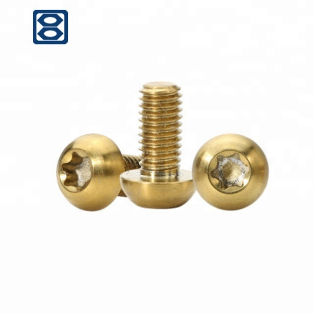 Haiyan bafang gold torx cup head titanium alloy <strong>screw</strong> for bicycle racing
