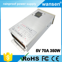 5V 70A waterproof outdoor switching power supply AC110V/220V to DC 5V