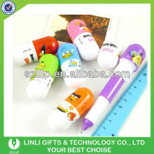 Plastic Logo Capsule Advertising Pen