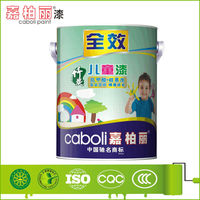 Quick drying colorful interior wall emulsion paint for kids room