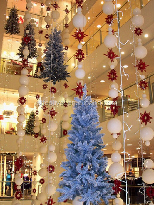 2015 shopping cenrter christmas atrium decoration