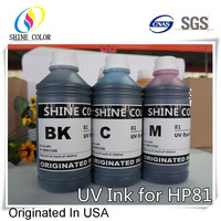 1000ml 6 color HP81 UV dye ink for HP Designjet 5000 5500 inkjet