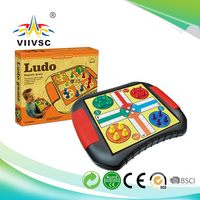 Hot selling custom design children ludo board game from manufacturer