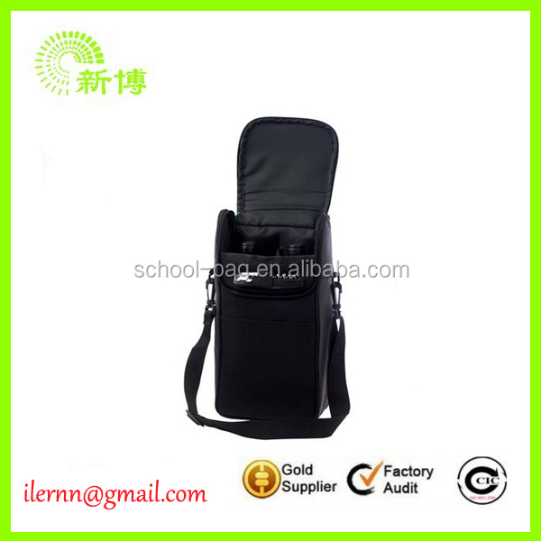 wholesale collapsible wine bottle cooler bag