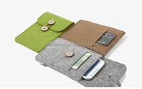 Wholesale Alibaba Mobile Phone Felt Cover Case