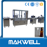automatic filling and capping machine bottle crown capping machine with low price