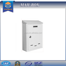 2016 YooBox Wholesale White Steel Mail Box of Large Size for Yahoo Mail