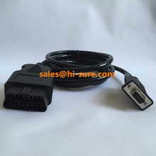 16 pin obdii connector male to DB9 female cable for OBD2 scanner