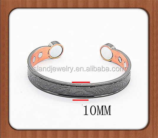 new innovative products Bio Magnetic magnetic bracelets for mens