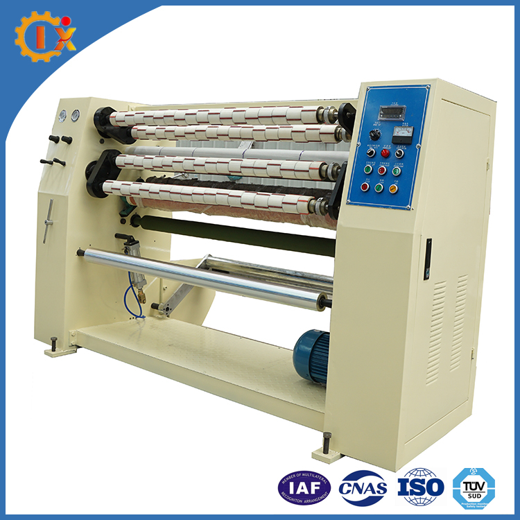 Industry Auotomatic Bopp/Pe/Pvc Masking Tape Slitting Machine