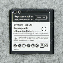 Top quality for Samsung Galaxy S i9000 mobile battery for micromax phones