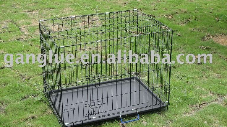 steel dog cage price