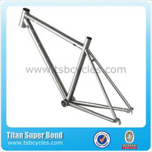 Hot sale China 700C titanium road bike frameTSB-CBR1001