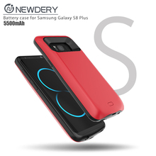 wholesale portable phone charger mobile phone battery case for Samsung galaxy S8 plus battery pack