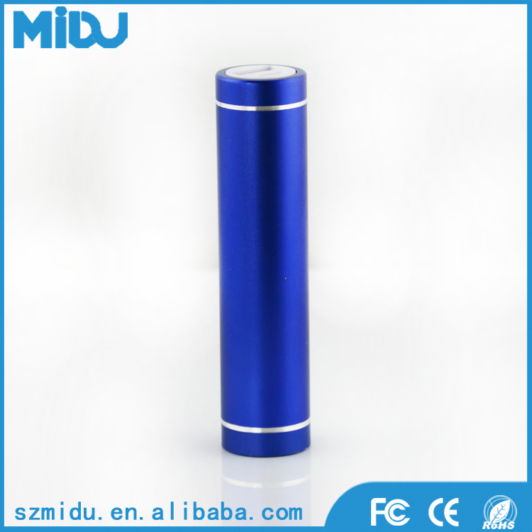 Fashionable Lipstick Portable Emergency Universal USB battery Charger Power bank 3000mAH