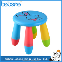 China supplier low price Portable Plastic Baby folding stool chairs