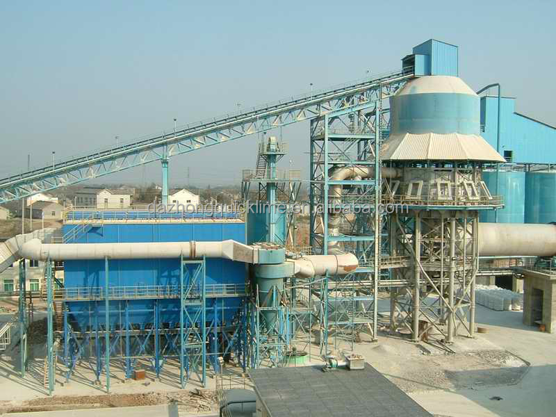 raw material of steelmaking- high reactivity quick lime