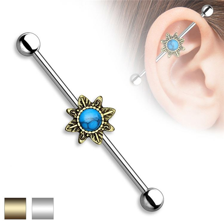 Most popular attractive style industrial piercing jewelry from manufacturer
