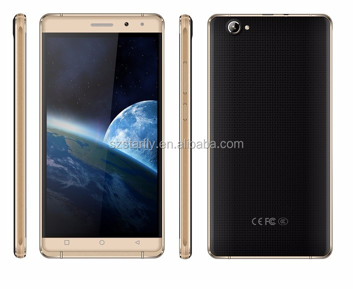 2016 hot sell 8GB ROM 6 inch touch screen cell phone oem odm smartphone 3g gps wifi bluetooth smart phone s3
