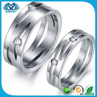316L Stainless Steel Jewelry Titanium Rings Blanks