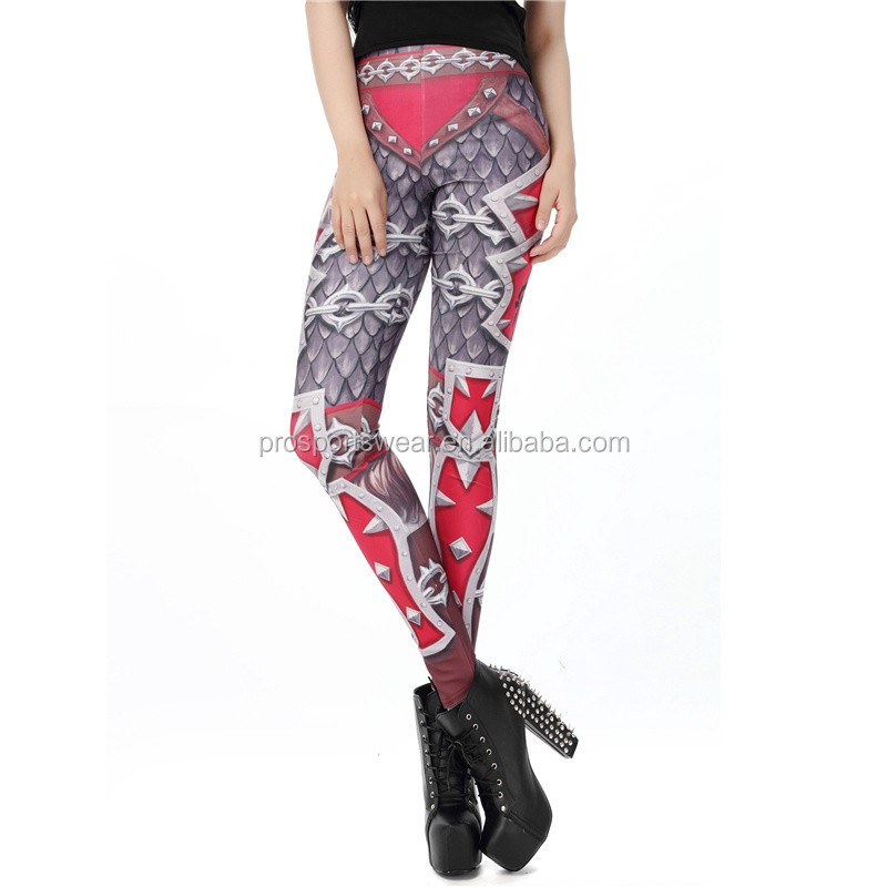 New hot sexy Brand Women Leggings colorful Printed Woman Legging female Pant high Elastic force girls Yoga pants