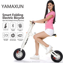 Fashion electric bike foldable electric bicycle newest mini bike made in China