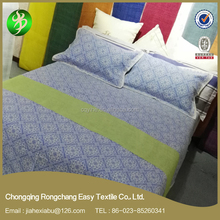 Manufacture printed ramie fabric new bed sheet design