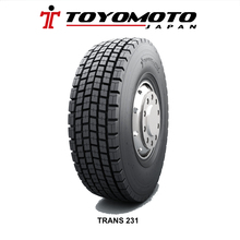 315/80R22.5 TRANS231 DRIVE AND STEER POSITION TRUCK TIRE, TOYOMOTO JAPAN TIRE, TBR TYRE