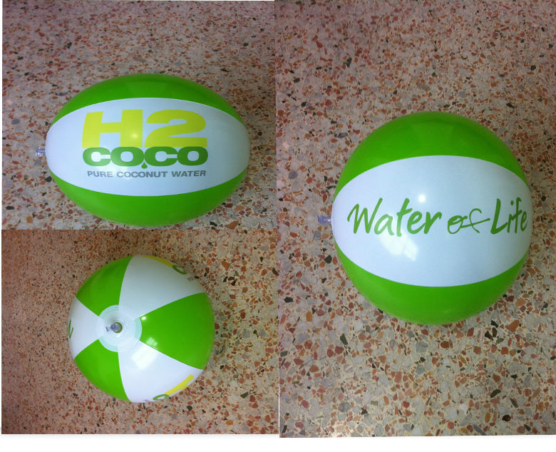 Inflatable pvc beach ball / Promotion beach ball
