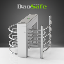 RFID Turnstile Half Height Barrier For Security Solution