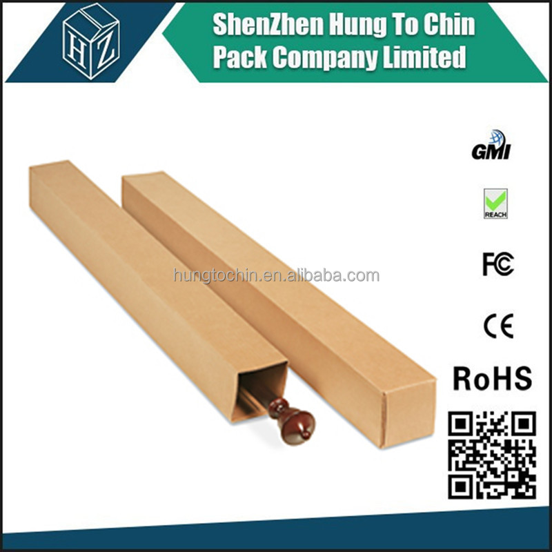 Packing factory Wholesale 3/5/7 plys corrugated long telescopic paper shipping box