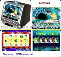 Mermaid slot machine board