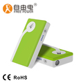 permanent magnet battery power supply pocket socket manually powered charger for mobile phone usage