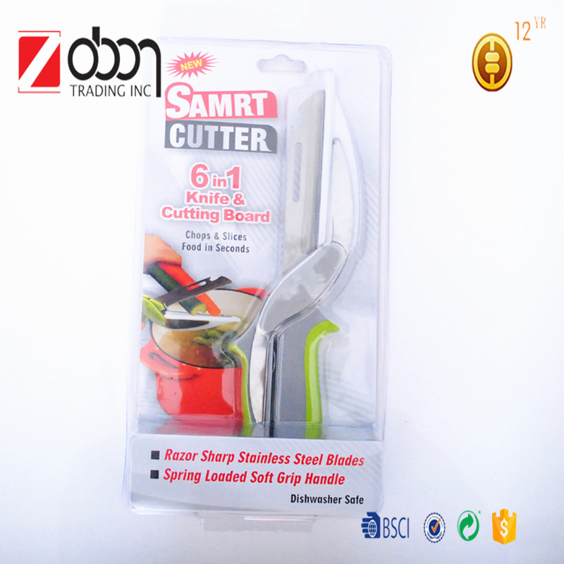 New arrived Smart Vegetable Cutter 6-in-1 food chopper AS SEEN ON TV